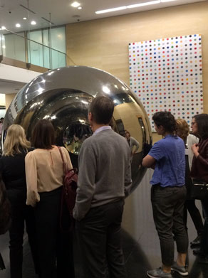 Deutsche Bank London Reception featuring works by Anish Kapoor and Damien Hirst' Guild in Bloomsbury