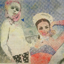 Sigmar Polke, Girlfriends, 1965