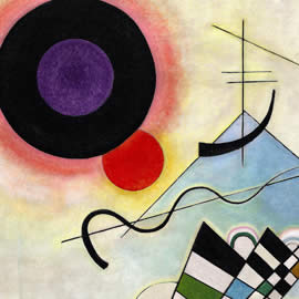Wassily Kandinsky Composition VIII, 1923 - detail